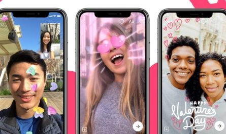 Facebook Messenger Valentine's Day features