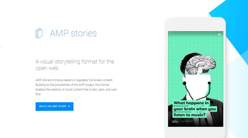 Google AMP Stories