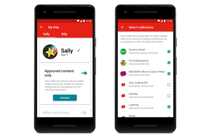 YouTube Kids to Get Curated Content and Tighter Parental Controls in the Coming Months