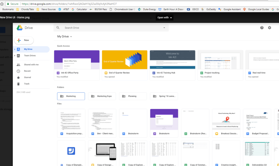 Google Revamps Drive to Give It a Clean, Fresh New Look
