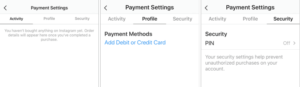instagram-native-payments-settings