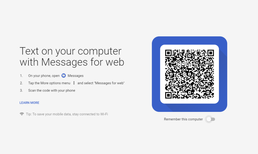 Android Messages for the Web is Now Live and Ready to Use