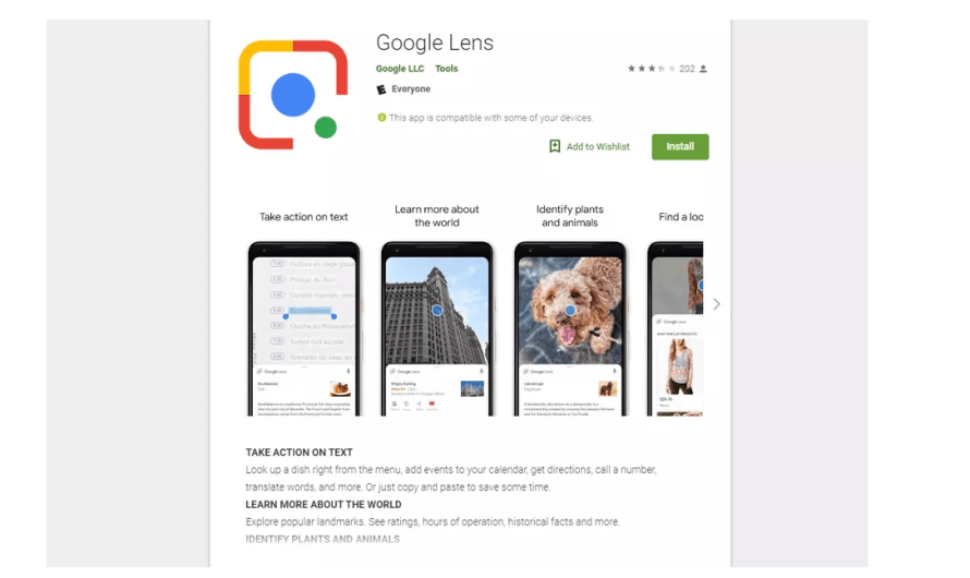 Google Releases Lens as a Standalone App, but It's Buggy