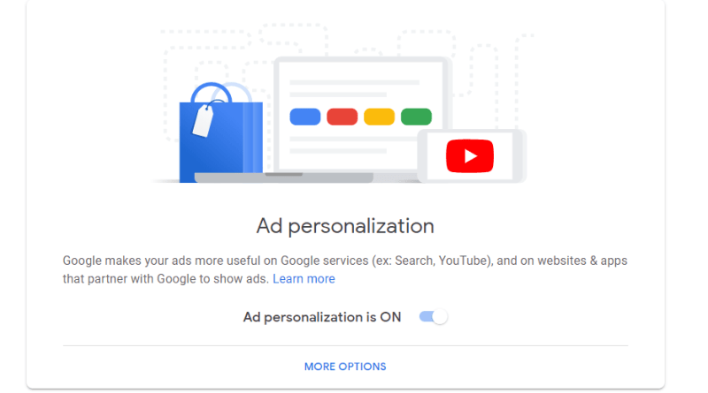 Google ad-limiting targeting