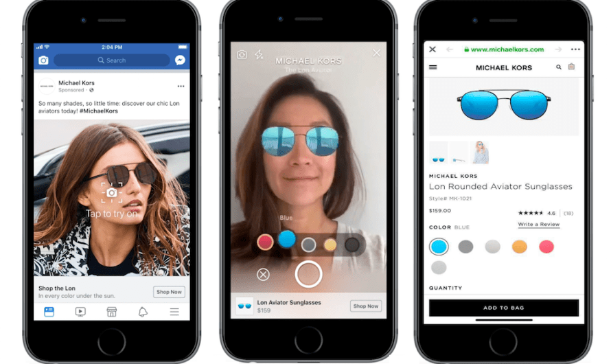 Facebook is Now Showing AR Ads in the News Feed