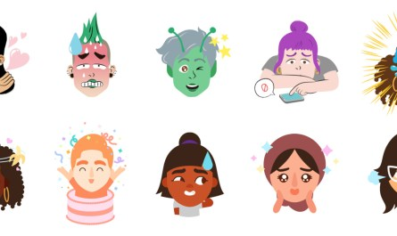 Google Gboard Mini selfie stickers