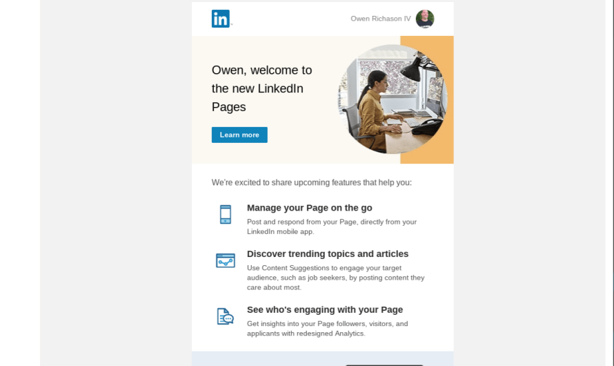 LinkedIn Introduces Pages, a New Way to Share Company Content