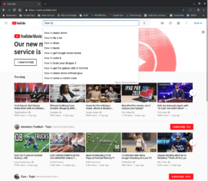 top YouTube how-to video searches