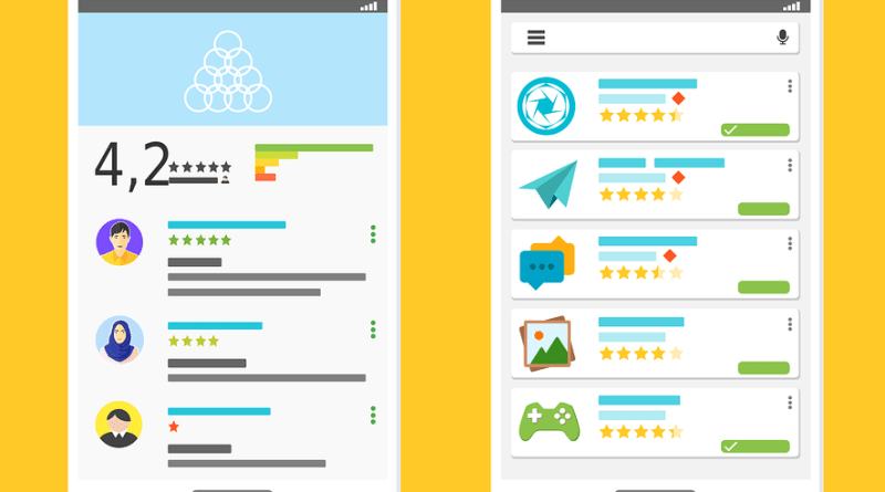 Google Play Store anti-spam review removal system
