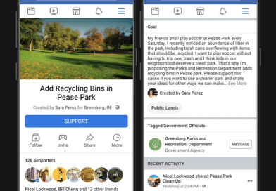 Facebook Community Actions