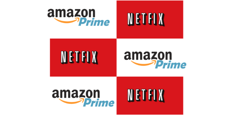 Netflix Amazon Prime Hulu libraries