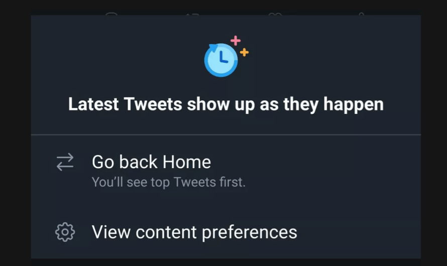 Twitter Brings the Reverse-Chronological Timeline Back to Android
