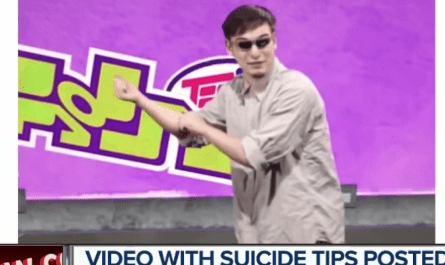YouTube Kids suicide tips