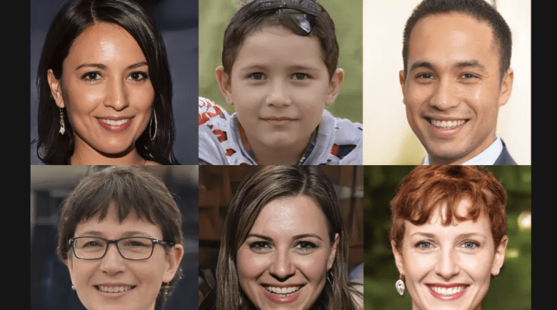 ai powered site generates fake faces