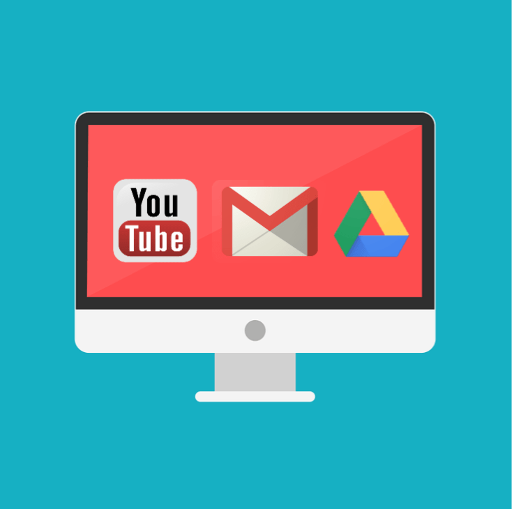 youtube gmail google drive outage