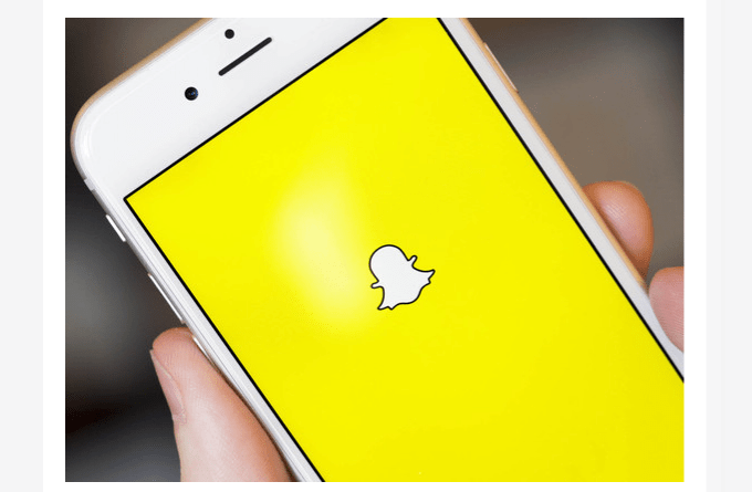 overhauled Snapchat Android app
