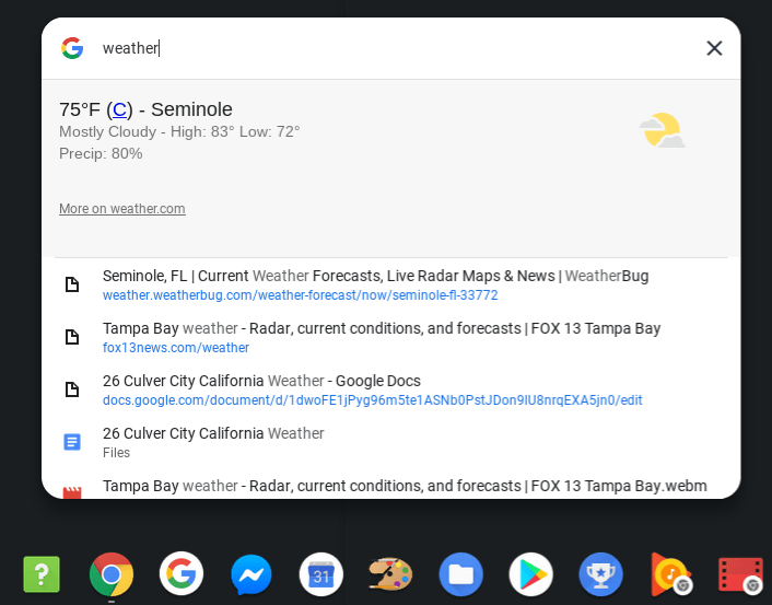 Chrome OS 74 Unified Search Syncs Google Assistant and
