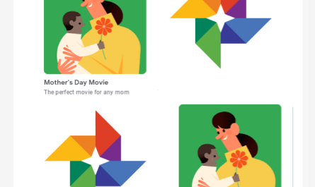 Google Photos Mothers Day movie