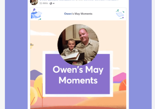 2019 Facebook May Moments Video