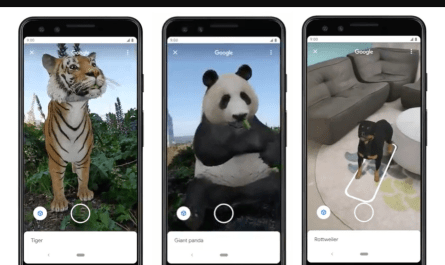 Google search augmented reality animals