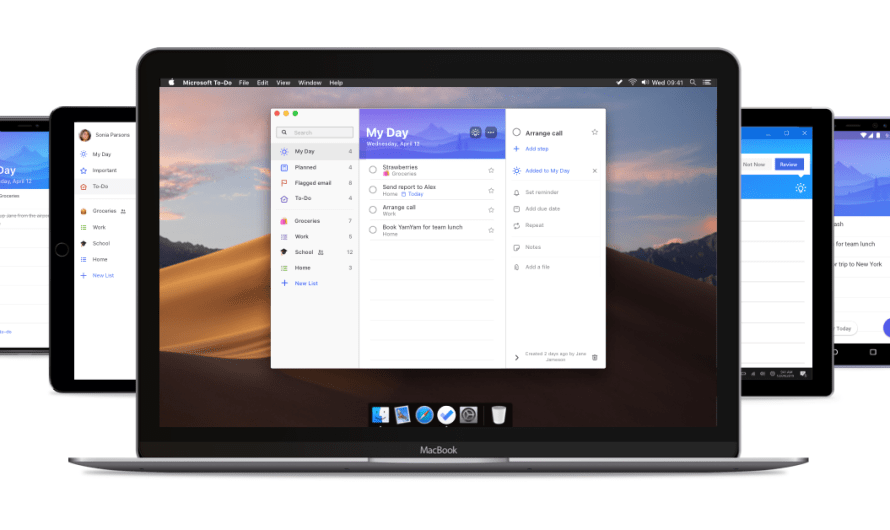 Microsoft Releases a Mac Desktop Version of its To-Do App