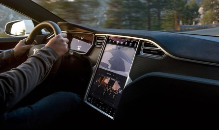 Tesla YouTube and Netflix streaming support