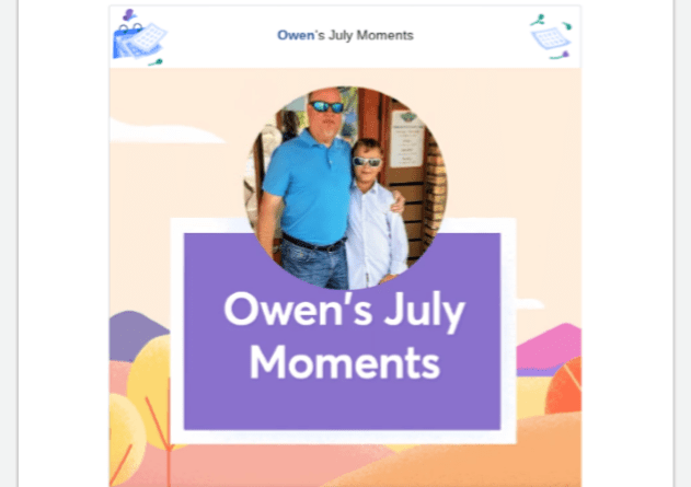 2019 Facebook July Moments