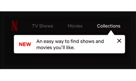 Netflix Collections test