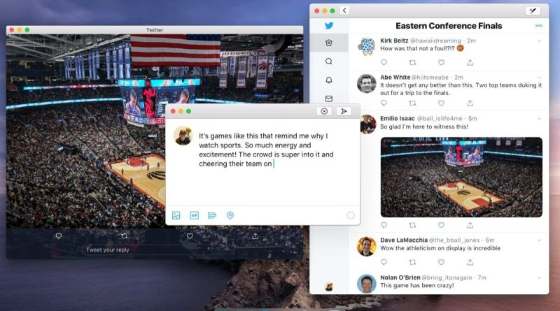 Catalyst-powered Twitter Mac app
