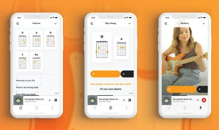 Fender Songs interactive chord book syncs with Apple Music