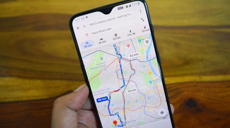 new Google Maps driving incident reports