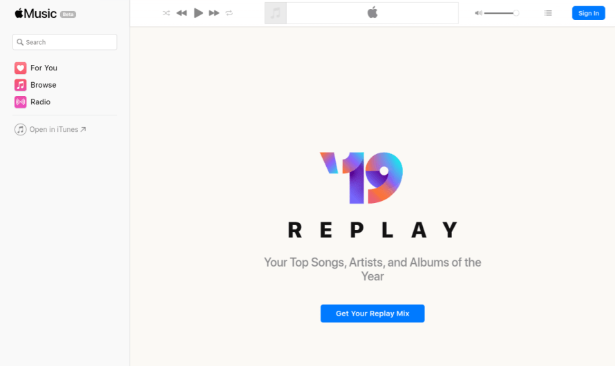 Apple Music Introduces Apple Music Replay, a Compilation of Users' Most-Played Songs from Each Year