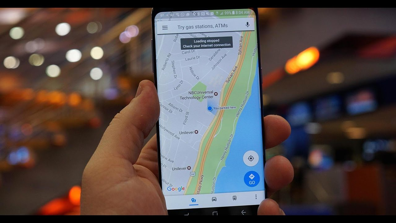 Google Maps app public profile editing