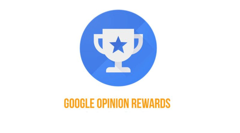 Google Opinion Rewards balances