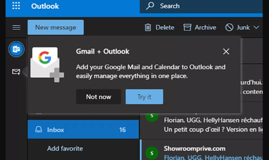 Microsoft Plans to Bring Gmail, Google Drive and Calendar, to Outlook for Desktop