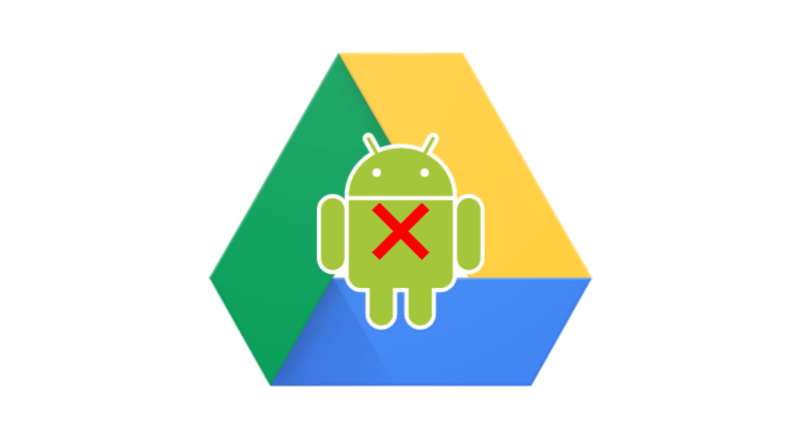 broken backup between Android and Google Drive