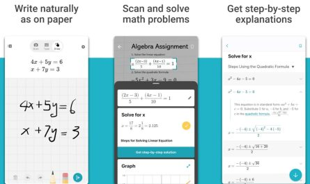 Microsoft Math Solver app helps students with their homework