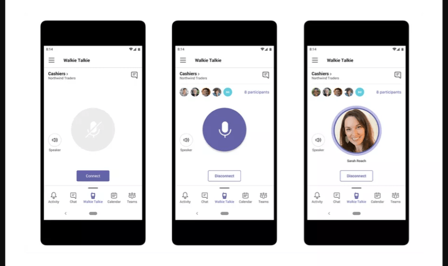 Microsoft is About to Add a Walkie Talkie Feature to its Teams Collaboration Platform, Starting as a Preview Option