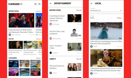 Flipboard TV video news service