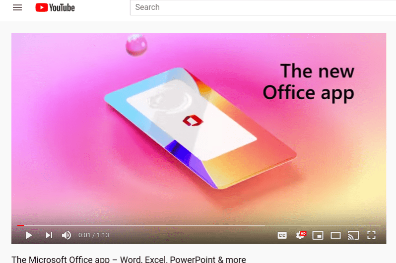 Microsoft Releases its New Office App for Android and iOS, Complete with Mobile-Friendly Features