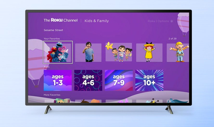 Roku Adds more Children's Content to its Kids & Family Section of the Roku Channel
