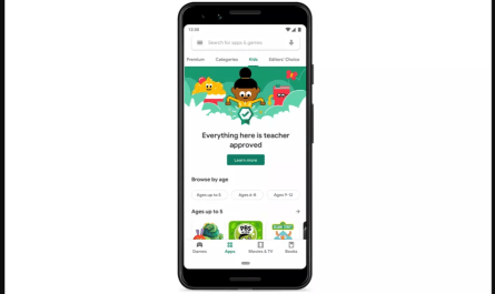 New Google Play Kids' Section 'Teacher Approved' Apps Announced