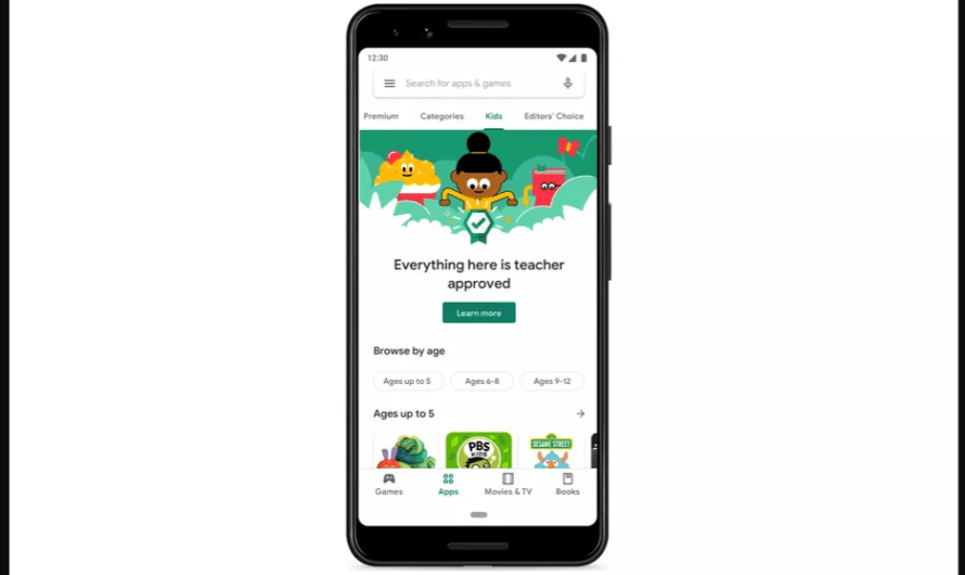 Google Says it Will Roll Out a New Kids' Section of 'Teacher Approved' Apps in the Google Play Store