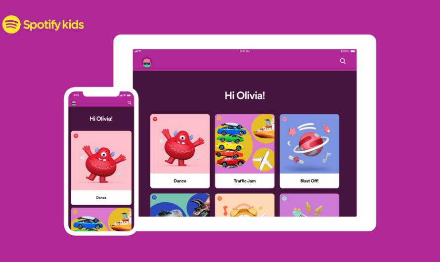 Spotify Kids App Now includes Blocking and Listening History Parental Features