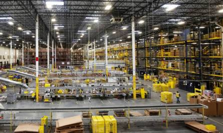 Amazon Warehouse Distance Assistant Helps Prevent the Spread of COVID-19