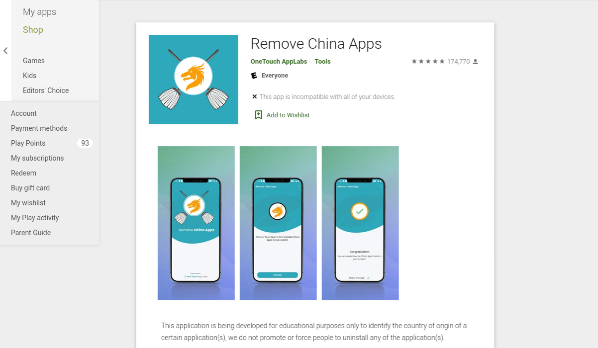 google-pulls-remove-china-apps-mobile-application-from-the-play-store