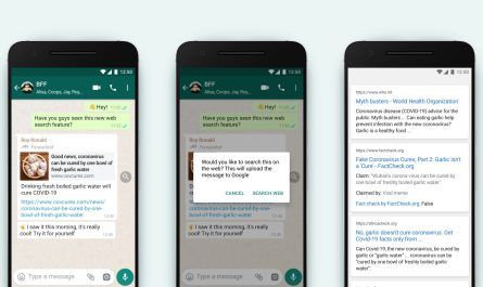 WhatsApp Viral Message Reverse-Search Tool Starts Test Trial