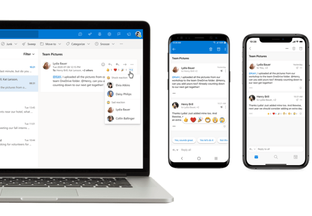 Microsoft is Improving Voice Controls for Outlook on Android and iOS