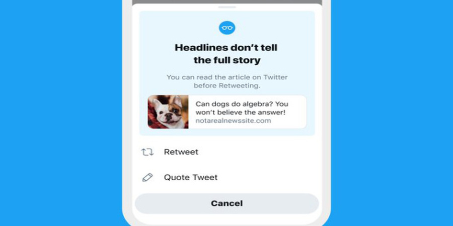 Twitter's 'Read Article' prompt going live to all users