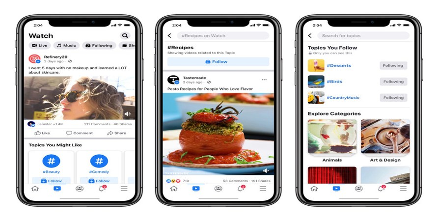 Facebook Really, Really Wants More Users to Watch its Watch Video Hosting Platform, So its Adding Three New Features